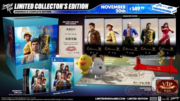 Shenmue III Limited Run Games Collector Complete Edition