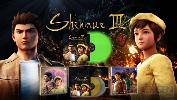 Shenmue III Vinyles Just for Games.