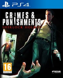 Sherlock Holmes Crimes and punishments PEGI jaquette PS4