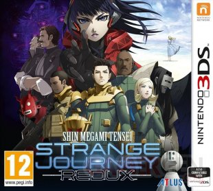 Shin Megami Tensei Strange Journey Redux jaquette 18 05 2018