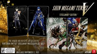 Shin Megami Tensei V édition steelbook 21 06 2021