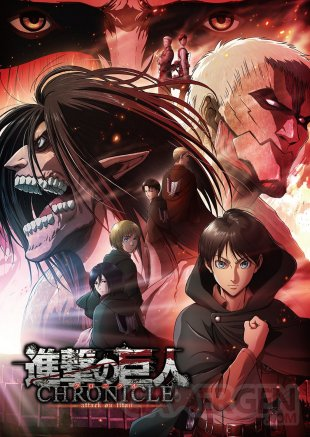 Shingeki no Kyojin Attack on Titan Chronicle 29 05 2020