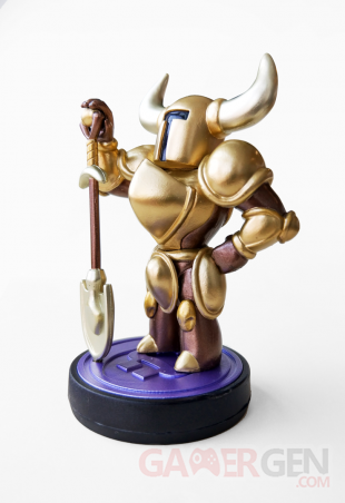 Shovel Knight Gold Edition amiibo 1
