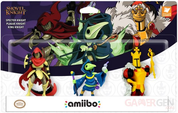 Shovel Knight Treasure Trove 3 pack amiibo (1)