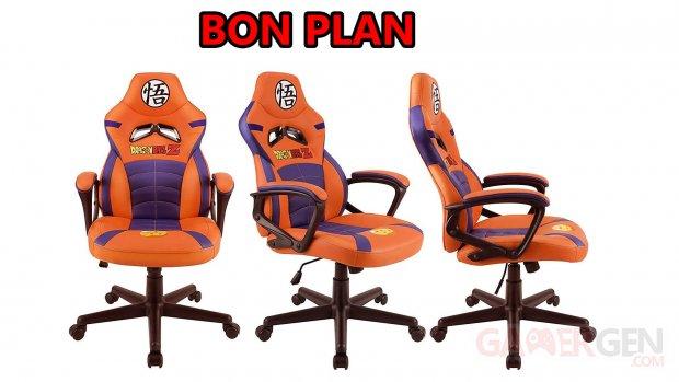 Siège gamer Dragon Ball copie