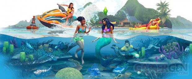 Sims 4 Ile paradisqiue