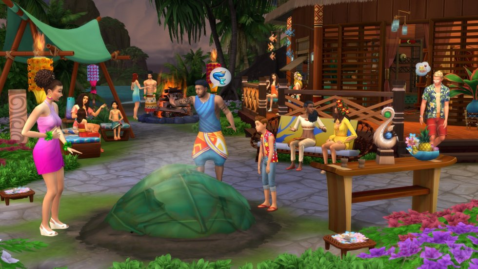 Sims 4 Island Living DLC Extension (5)