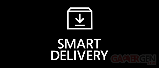 Smart Delivery Xbox Series X XSX logo pic badge icone pictogramme banner