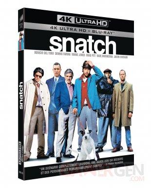 Snatch Blu ray 4K UHD