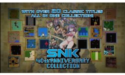 SNK 40th ANNIVERSARY COLLECTION   Launch Trailer