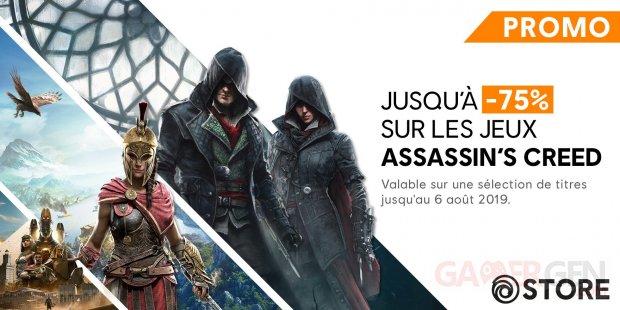Soldes Assassin's Creed Ubisoft été 2019