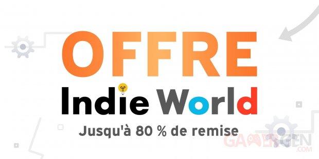 Soldes eShop offre Indie World 14 04 2021