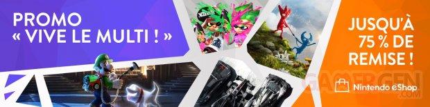 Soldes eShop promotions Vive le Multi 21 08 2020