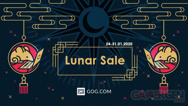 Soldes GOG nouvel an chinois lunar new year sales