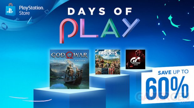 Soldes PlayStation Store Days of Play 06 06 2018
