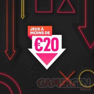 Soldes PlayStation Store Jeux moins 20 euros 28 04 2021