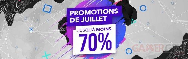 SOLDES PlayStation Store promotions juillet