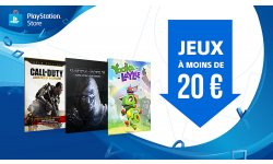 Soldes PlayStation Store rabais