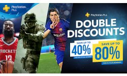 Soldes Rabais double promotions playstation store image