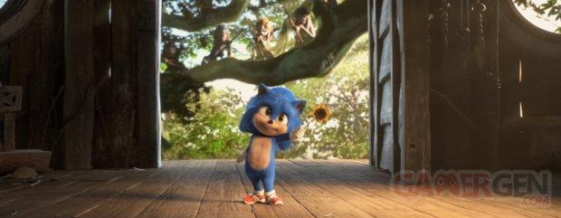 Sonic le film Baby Sonic