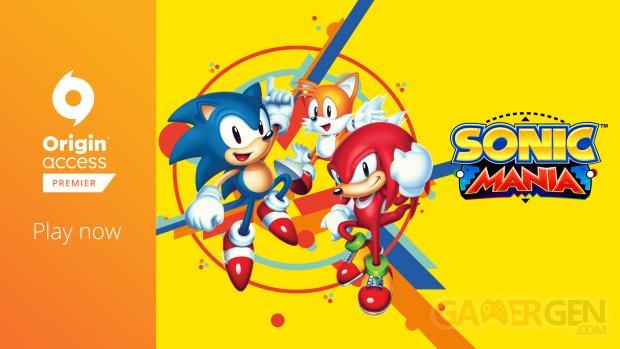 Sonic Mania Origin Access Premier