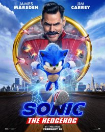 Sonic the Hedgehog the movie le film poster 2