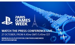 Sony Conference Paris Games Week PGW