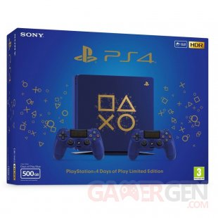 sony PS4 days of play edition limitee