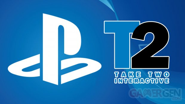 Sony Take Two Logos
