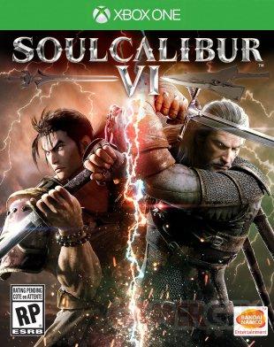 Soulcalibur VI jaquette Xbox One 28 03 2018