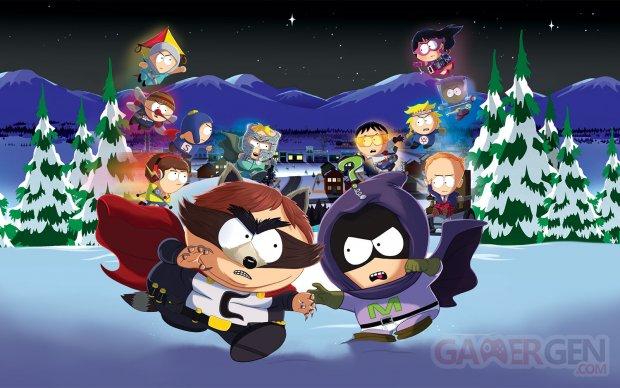 South Park L'Annale du Destin jaquette image fond jeu