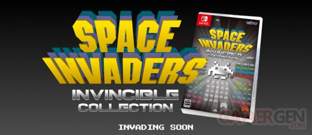 Space Invaders Invincible Collection head