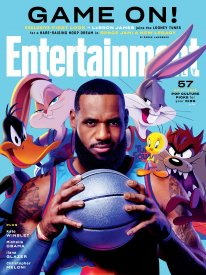 Space Jam 2 New Legacy Nouvelle ère 04 03 2021 Entertainment Weekly cover