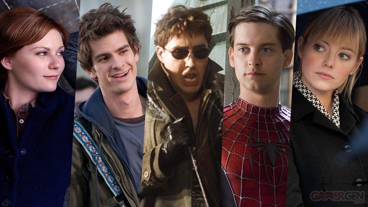Tobey Maguire et Alfred Molina dans Spider-Man 3