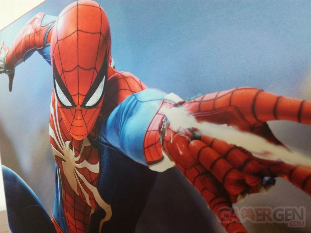 Spider Man collector unboxing déballage 07 09 09 2018