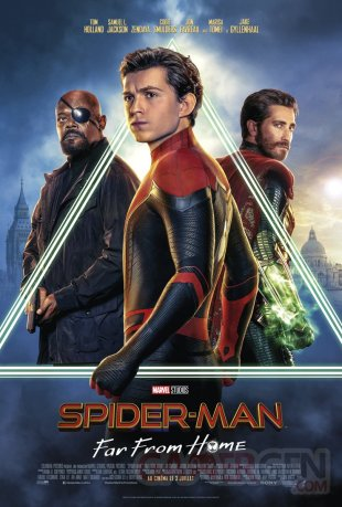 Spider Man Far From Home affiche 01 22 05 2019