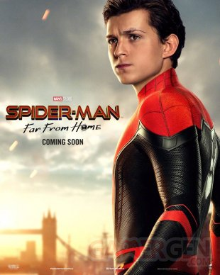 Spider Man Far From Home affiche 03 22 05 2019
