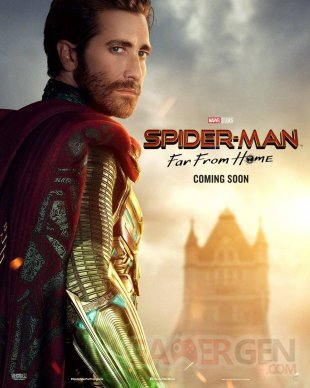Spider Man Far From Home affiche 04 22 05 2019