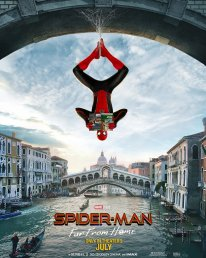 Spider Man Far from Home poster 1