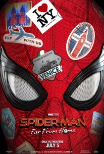 Spider Man Far From Home poster