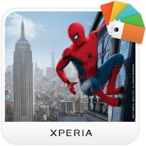 Spider Man Homecoming thème Xperia icone