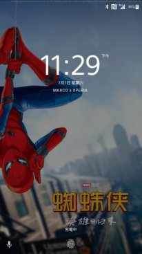 Spider Man Homecoming Xperia Theme 1
