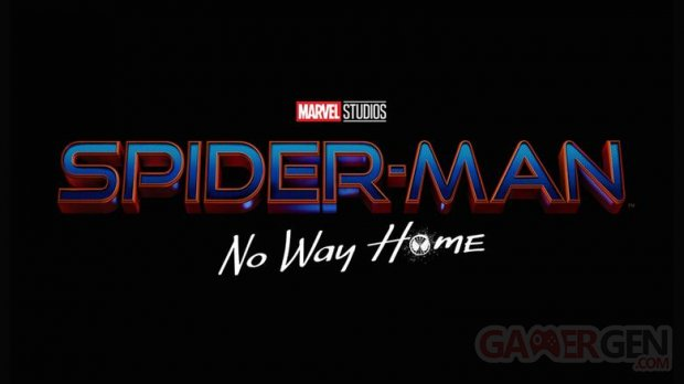 Spider Man No Way Home logo title 2021
