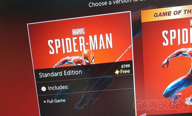 Spider Man PS Plus SiggiRiggi