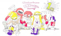 Splatoon 1 an Dessin Artwork