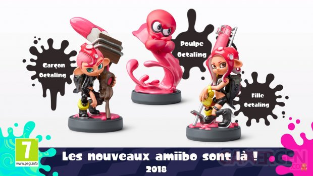 Splatoon 2 amiibo 13 06 2018