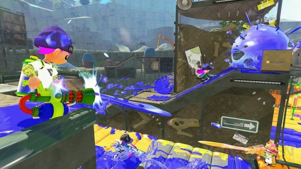 Splatoon 28 12 2015 screenshot
