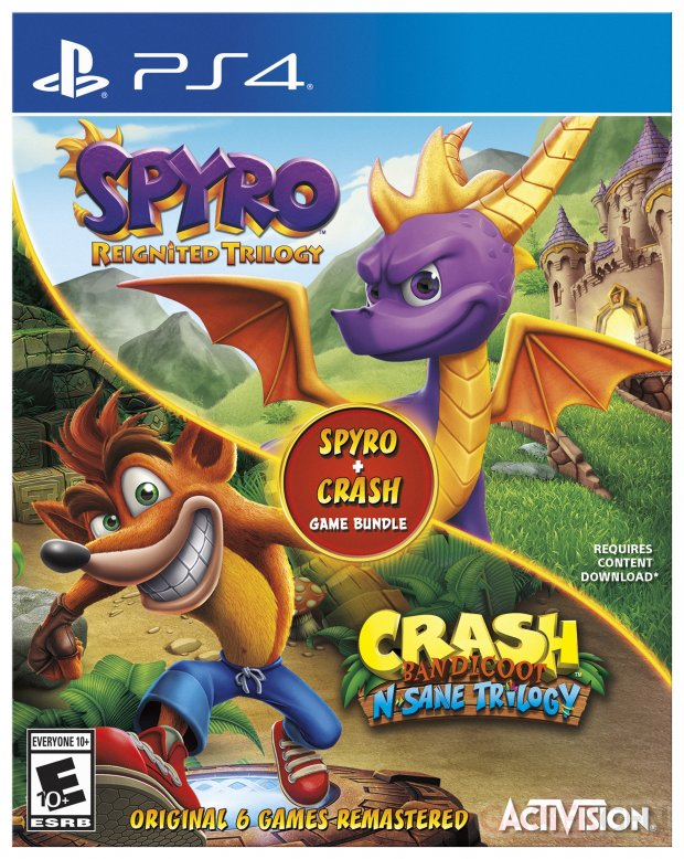 Spyro Crash Bundle