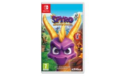 Spyro Reignited Trilogy jaquette switch