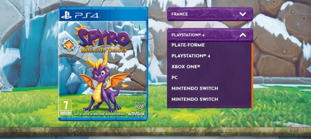Spyro Reignited Trilogy PC Switch
